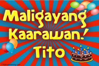 Maligayang Kaarawan Tito