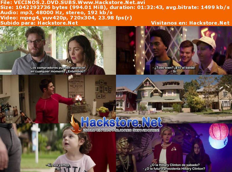 Capturas de Buenos Vecinos 2 (2016) DVDRip Subtitulada