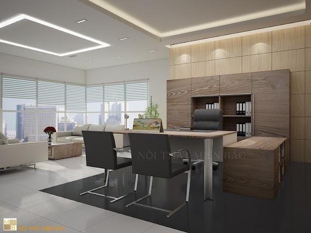 Tủ tài liệu giám đốc sang trọng chất liệu gỗ veneer được sử dụng rất phổ biến, bởi những tính năng cũng như sức hút từ đường vân gỗ khỏe khoắn