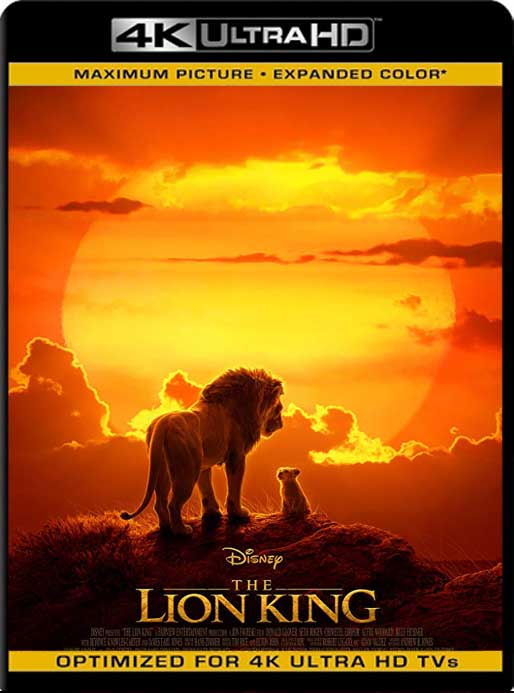 El Rey León (The Lion King) (2019) 4K 2160p UHD [HDR] Latino [GoogleDrive]