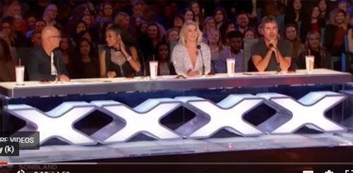 "Julianne Hough  saat beraksi sebagai salah satu Juri ""American's Got Talent.  Phto courtesy TalentRecap COM"