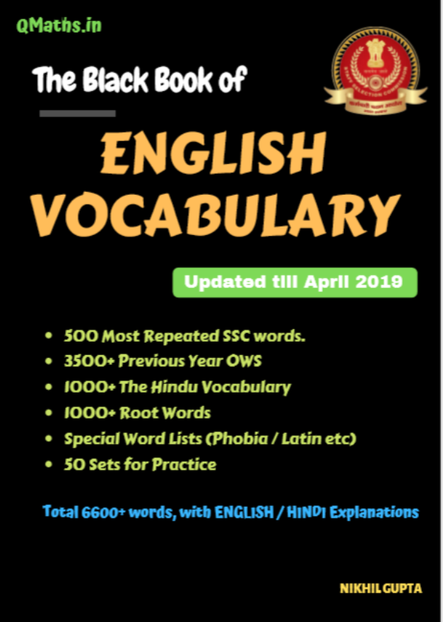 The-Black-Book-English-Vocabulary-by-Nikhil-Gupta-For-SSC-Exam-PDF-Book