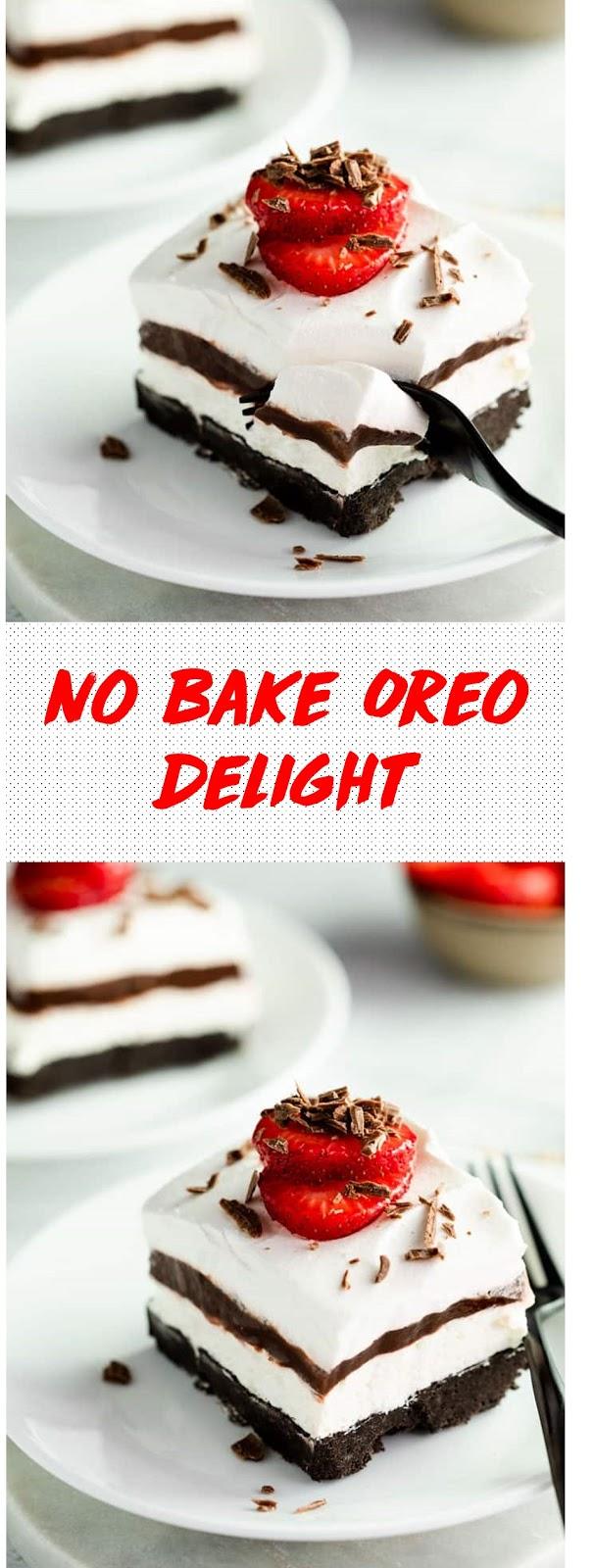 No Bake Oreo Delight