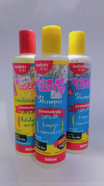 Shampoo Transição Capilar {Limpeza Renovadora!} #todecacho