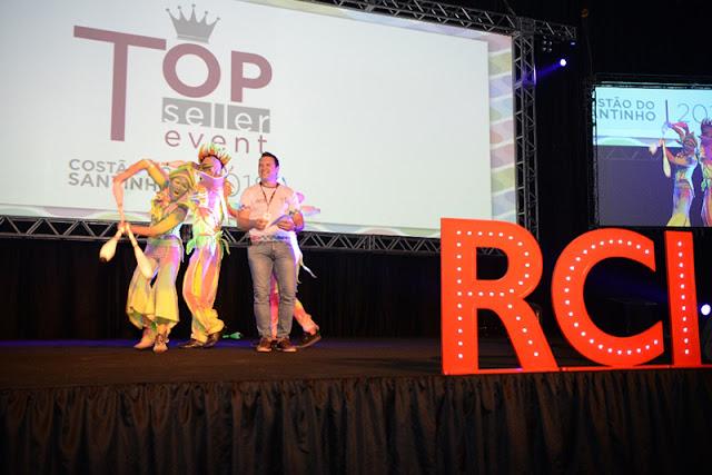 Apresentação de abertura para convenção da empresa RCI, evento Top Seller que aconteceu no Costão do Santinho, Florianópolis SC.