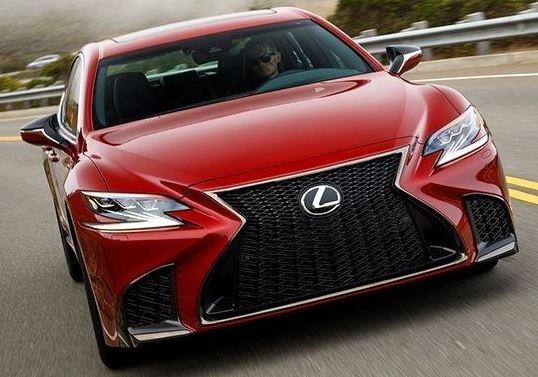 2018 Lexus LS The big Lexus flagship moves toward the future.