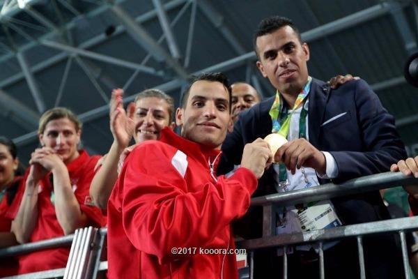 حصول العساف علي جائزة محمد بن راشد لأفضل مدرب عربي