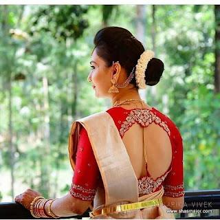 saree kuchu design images