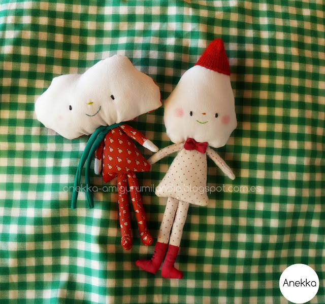 cloth dolls anekka handmade