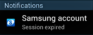 How to fix Samsung account session expired message on notifications