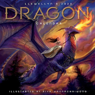 Click here to purchase Llewellyn's 2020 Dragon Calendar at Amazon!
