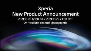 ソニー、Xperia新製品を10月26日12時に発表。感動と興奮を届けるNEW Xperiaが登場へ