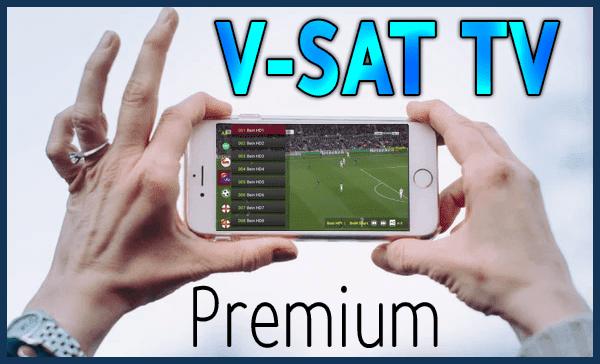تطبيق  V-SAT TV لمشاهدة ألاف القنوات على هاتفك