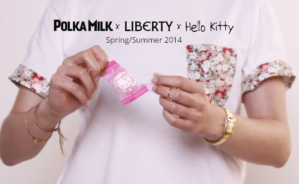Polka Milk Liberty Hello Kitty Fashion Campaign 2014 Blog