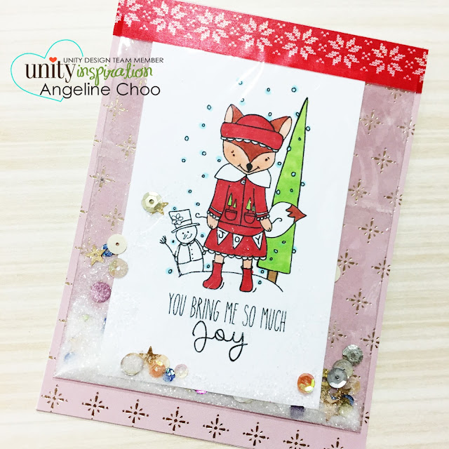 ScrappyScrappy: [NEW VIDEO] Pocket Shaker Holiday Cards with Unity Stamp #scrappyscrappy #unitystampco #stamp #stamping #shakercard #card #cardmaking #copic #christmas #christmascard #holiday #quicktipvideo #youtube #video