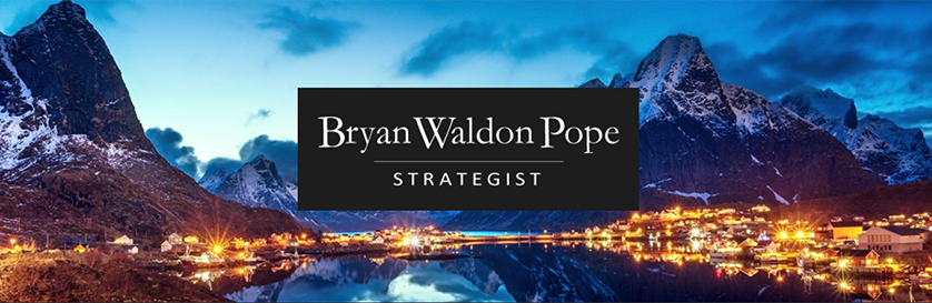 Bryan Waldon Pope, Strategist