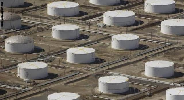 بدء تنفيذ مشروع تخزين النفط الخام فى الصحراء الشرقية.