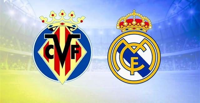 مشاهدة مباراة ريال مدريد وفياريال بث مباشر