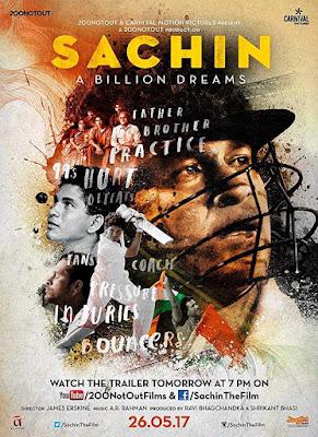 poster Sachin A Billion Dreams 2017 Hindi HD 1080p