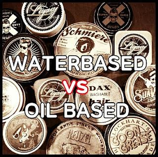 Perbedaan Pomade Oil Based dan Water Based