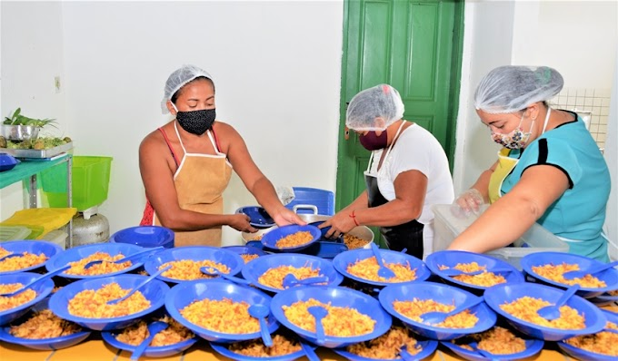 PREFEITURA DE URBANO SANTOS GARANTE ALIMENTAÇÃO NUTRITIVA AOS ALUNOS DA REDE PÚBLICA