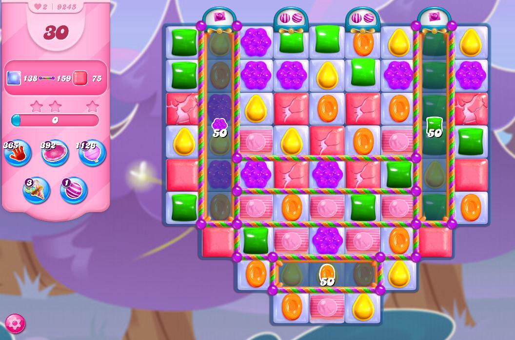 Candy Crush Saga level 9245