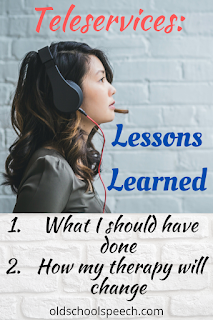 Distance Learning: Lessons Learned during Teleservices