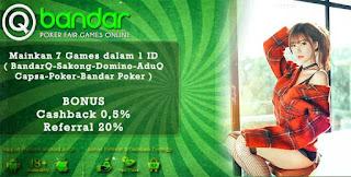 Promo Bonus Judi AduQ Online QBandars.net - www.Sakong2018.com