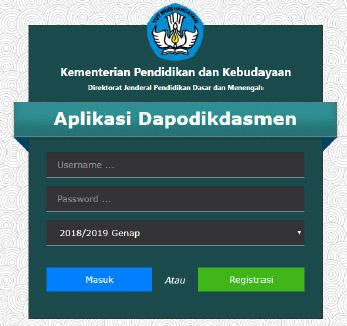 Aplikasi Dapodik Versi 2019 c
