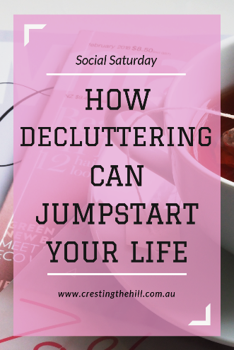 Taking the time to de-clutter can have a positive effect on your life - not just your home
