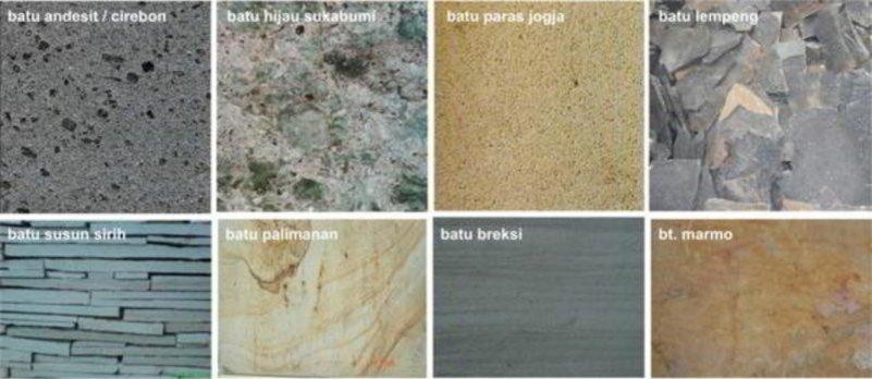 motif keramik dinding teras tampak bagus