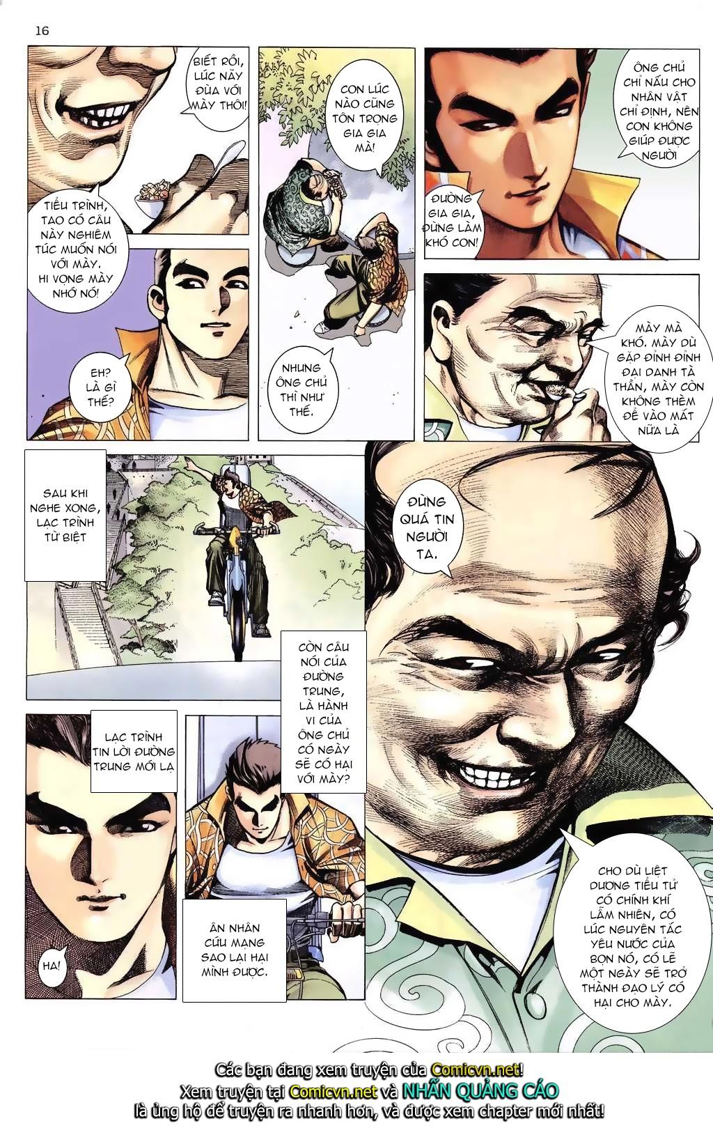 Xích Trụ Phạn Đường chap 6 - Trang 16