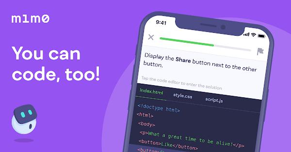 أفضل 10 تطبيقات أندرويد لتعلم البرمجة - تطبيق Mimo