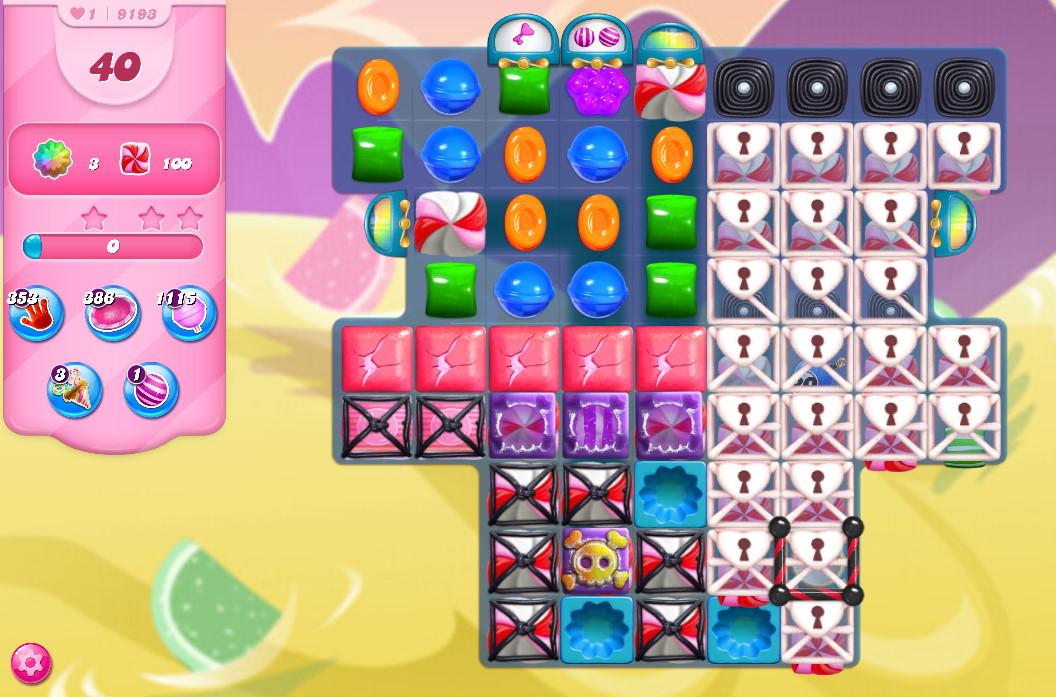 Candy Crush Saga level 9193