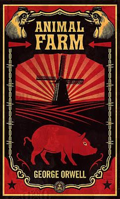 La ferme des animaux d'Orwell est une fable satirique