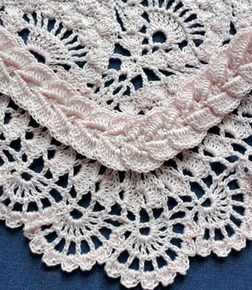 Crochet Cable-Shell Edging - Free Pattern & Tutorial