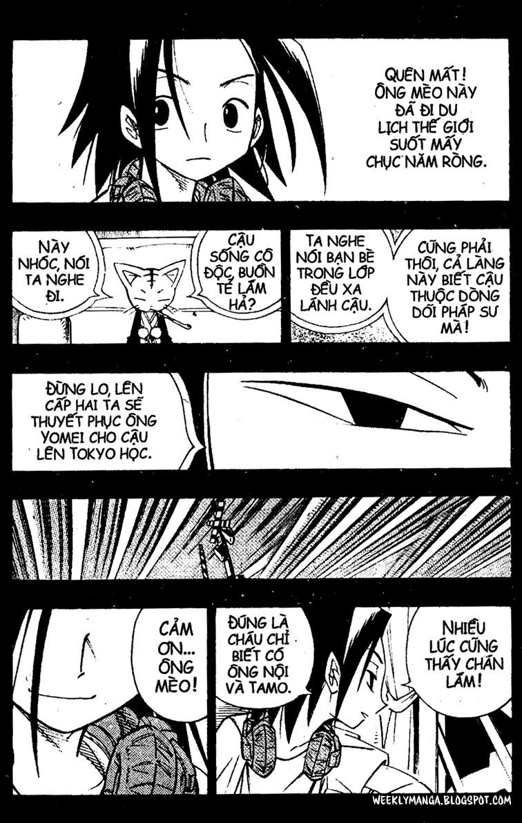 Shaman King [Vua pháp thuật] chap 163 trang 17
