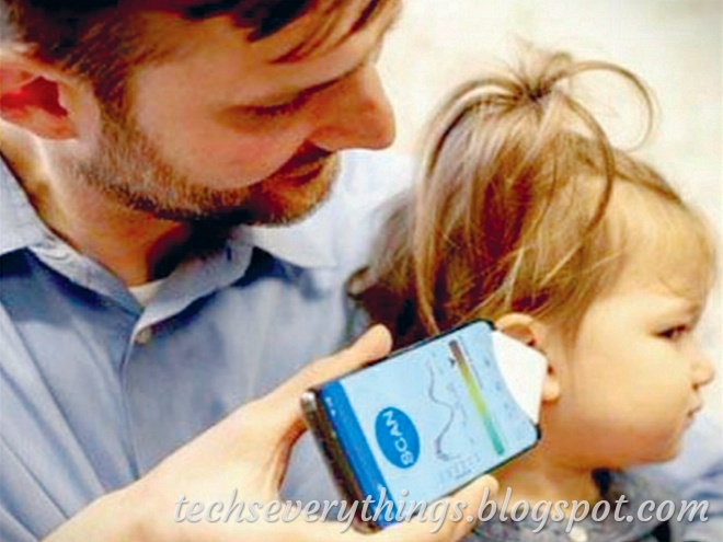 This app will be able to check the infection in children's ears.