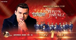 Concierto de Yeison Jiménez, Ricardo Torres y su Mariachi