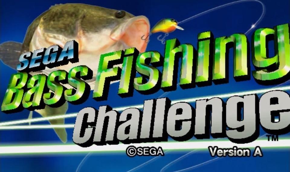 Sega Bass Fishing Challenge Version A Rom