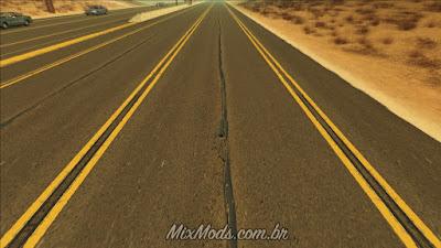 gta sa san mod real hq roads ruas em hd mipmap textures