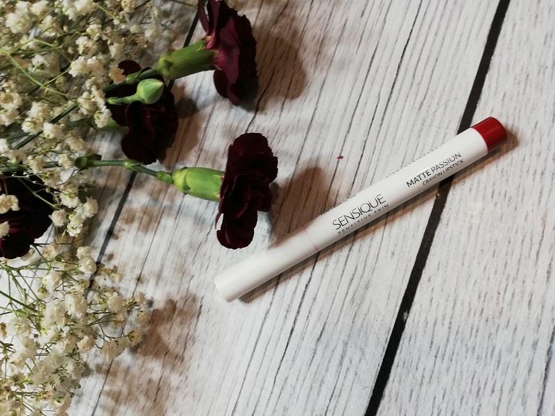 Sensique Matte Passion Crayon Lipstick