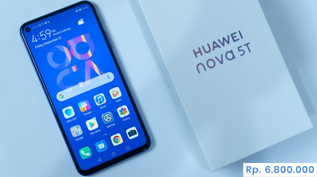 Huawei Nova 5T Harga Terbaru
