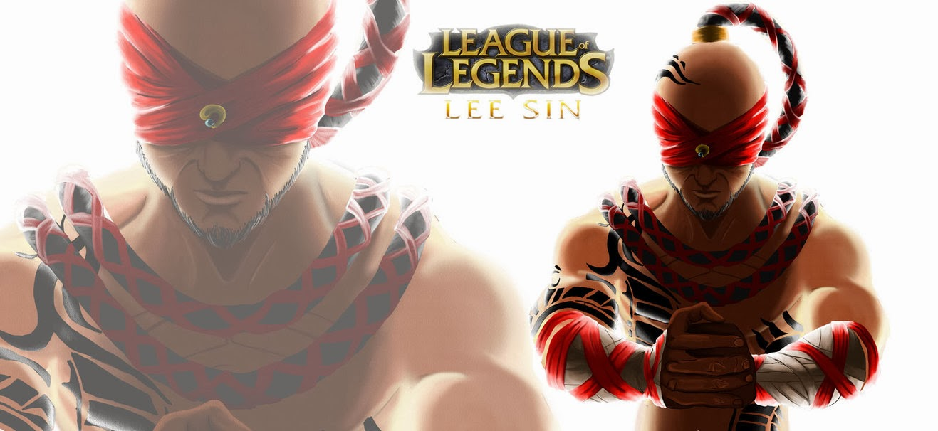 Lee Sin League of Legends Wallpaper, Lee Sin Desktop Wallpaper
