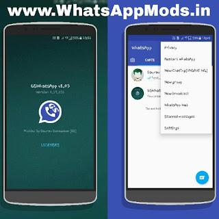 GSWhatsApp v1.03 WhatsAppMods.in