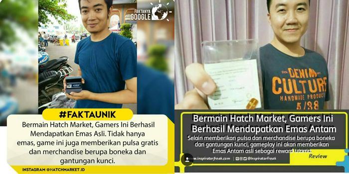 Hatch Market - Game Indonesia terbaik Dengan Hadiah Emas 24 Karat