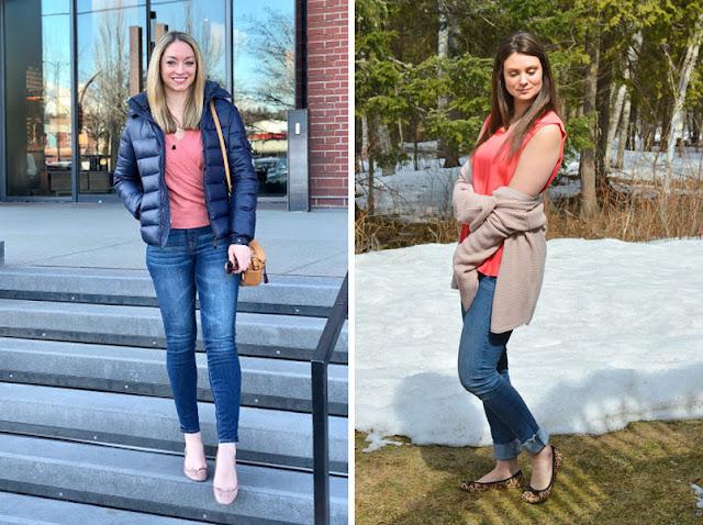 Девушки в джинсах скинни