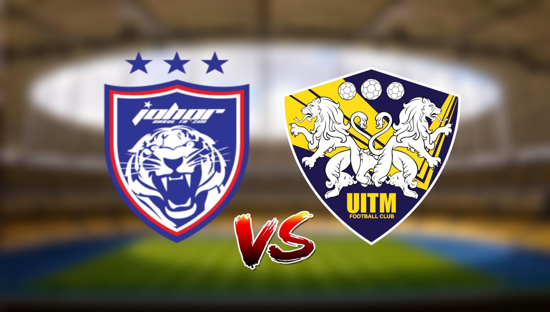 Live Streaming JDT FC vs UITM FC Liga Super 25.7.2021