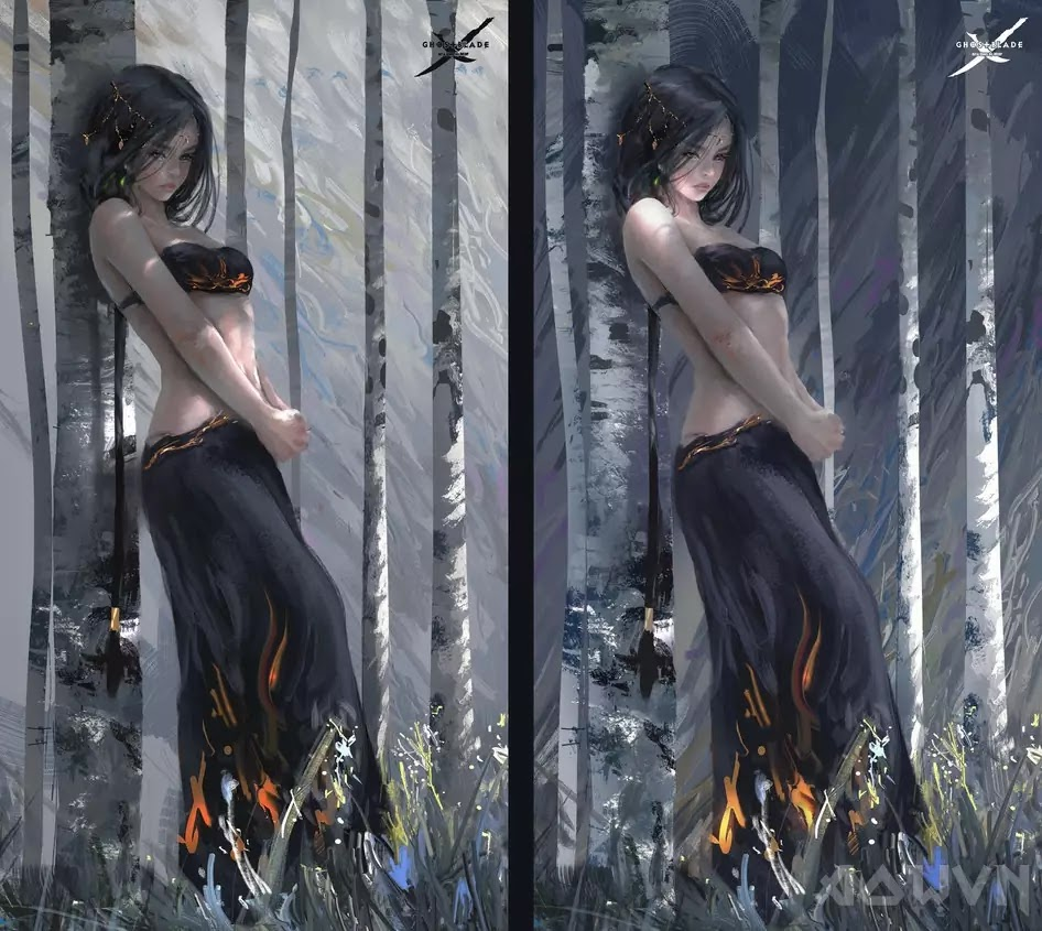 14 AowVN.org m - [ Hình Nền ] Anime Cực Đẹp by Wlop | Wallpaper Premium / Update