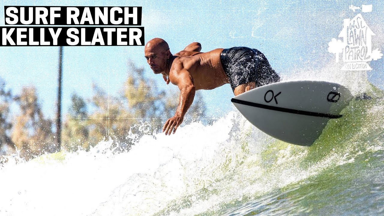 Surf Ranch Innovator And 11x World Champ Kelly Slater Shows You Around His Creation LAWN PATROL
